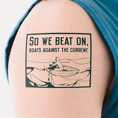 Tattoos Tattoo Literary Gatsby Fitzgerald Quotes Litographs