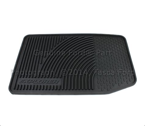 Ford Explorer All Weather Floor Mats - brand new oem black all weather vinyl rubber floor mats