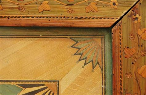 fine straw marquetry framed panel  stdibs