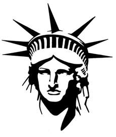 bathroom stencil ideas black statue of liberty on statue of liberty