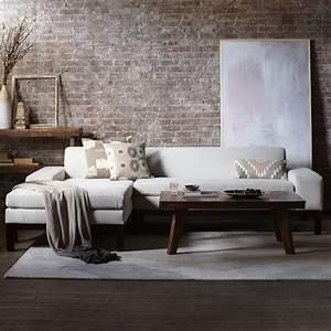 lorimer sectional west elm living room inspiration With west elm lorimer sectional sofa