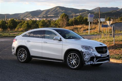 Even more dynamic, performance and passion: Mercedes-Benz GLE 63 AMG Coupe Spied In Production-Ready Clothes - autoevolution