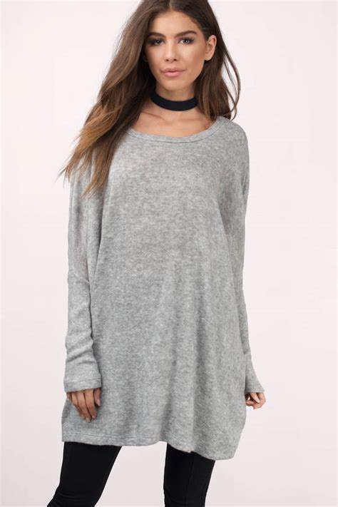 oversized sweater womens oversized grey sweater cocktail dresses 2016