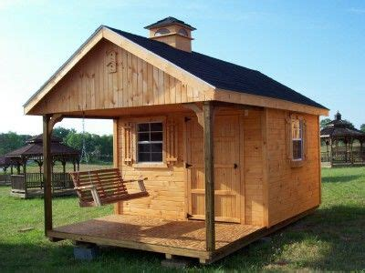 sheds and swings shead ideas 10x16 garden shed with loft porch and