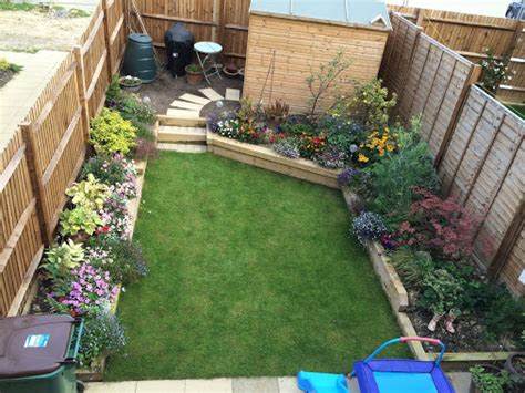 A Small Family Garden  Rg Hewitt Garden Landscaping