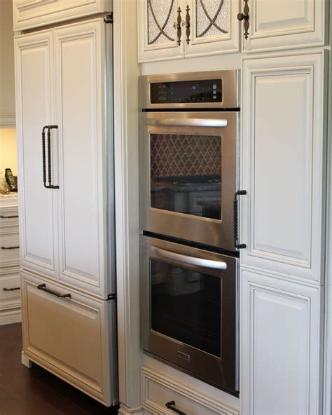 oven kitchen design wall oven and 42 quot counter depth refrigerator that 6922