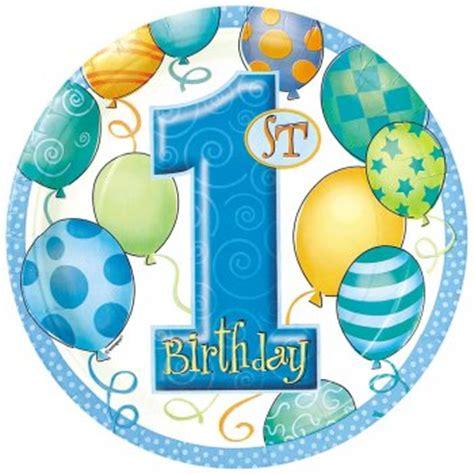 decoration anniversaire 1 an garcon 8 assiettes anniversaire 1 an gar 231 on pour l anniversaire de votre enfant annikids