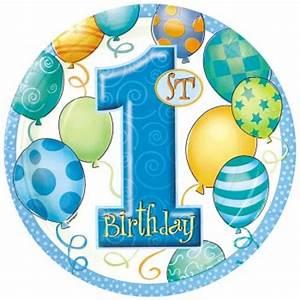 1 An Anniversaire : 8 assiettes anniversaire 1 an gar on pour l 39 anniversaire de votre enfant annikids ~ Farleysfitness.com Idées de Décoration