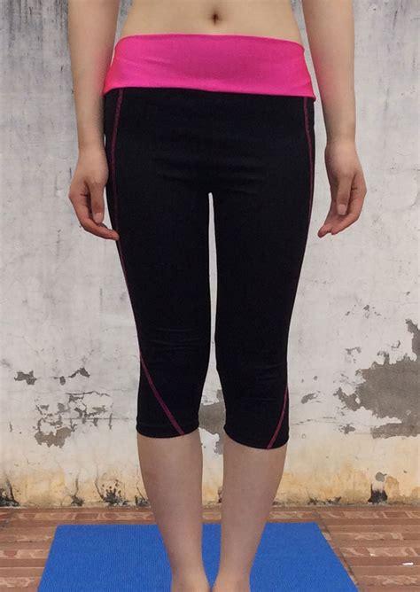 splicing skinny fashion yoga leggings fairyseason