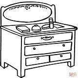 Coloring Table Mirror Furniture Dining Furnitures Printable Clipart Library Clipartbest Az Cleaning Bathroom Popular Clip Getcolorings Colorings Coloringpages101 Coloringhome sketch template