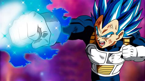 vegetta puno destructor dragon ball super  hd anime