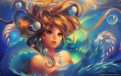 Digital Amazing Wallpapers Desktop Anime Woman 3d