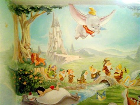 Kinderzimmer Wandgestaltung Disney by More Ideas For Nursery Mural Kinder In 2019 Disney