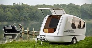 A Towable Trailer That39s Both A Camper And A Boat Sealander