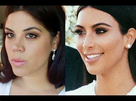 kim kardashian wedding makeup tutorial makeup  mario