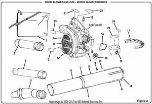 Homelite Ry09053 Blower  Vacuum Parts Diagram For Figure A