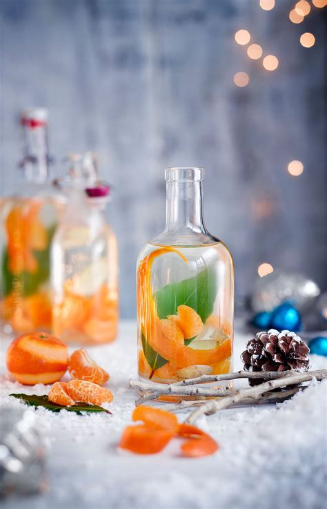 christmas gin recipe  clementine ginger  bay