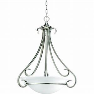 Progress lighting torino collection light brushed nickel