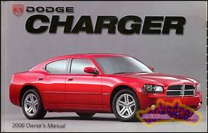 2006 Charger Owners Manual Dodge Handbook Guide Book New
