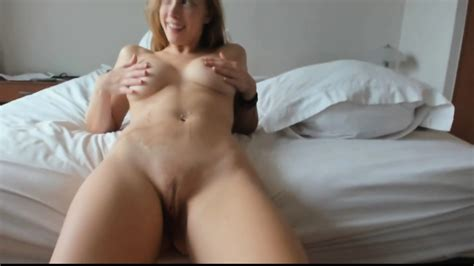 Awesome Ends Up With Huge Cumshot Over Her Belly