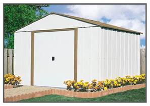 10x10 metal shed sears