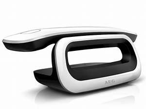 Telefon Schnurlos Retro : aeg loop plus schnurloses dect telefon mit design faktor ~ Watch28wear.com Haus und Dekorationen