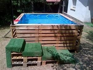 Terrasse Aus Paletten : pool aus paletten selber bauen wichtige tipps und ideen ~ Whattoseeinmadrid.com Haus und Dekorationen