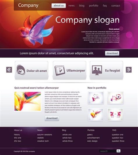 easy web design simple web page design templates template ideas
