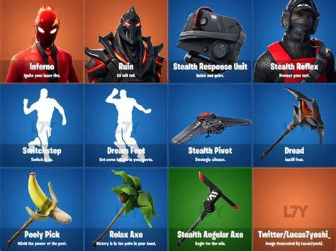 fortnite  leaked skins release date news  latest
