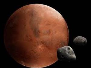Mars Planet 2Moons - Pics about space