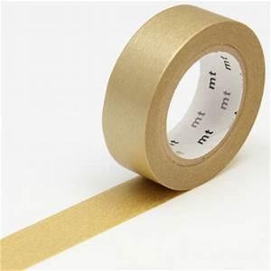 Masking Tape Doré : masking tape uni dor masking tape mt chez rougier pl ~ Teatrodelosmanantiales.com Idées de Décoration