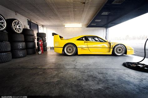Yellow F40 by Yellow F40 Cars Move Us