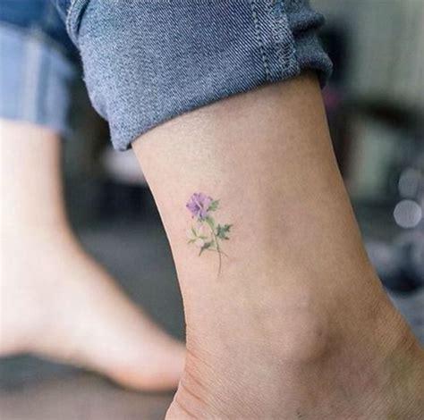 flower ankle tattoos ideas  pinterest mehandi