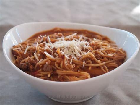 cooker spaghetti pressure cooker one pot spaghetti recipe cdkitchen com