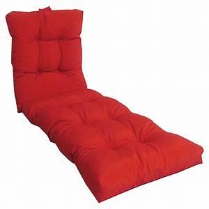 Coussin Chaise Longue : coussin pour chaise longue de jardin table de lit ~ Teatrodelosmanantiales.com Idées de Décoration