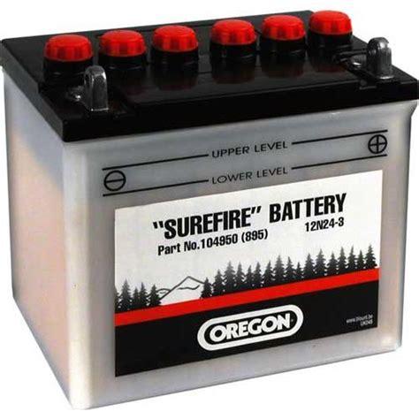 oregon batterie   ah pluspol links inkl