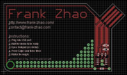 usb pcb business card 10 steps with