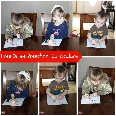 free preschool curriculum daily classes amp free 483   Free online preschool curriculum