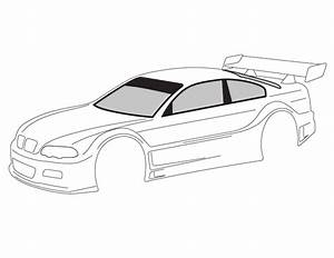 Blank templates for designing on paper page 54 r c for Blank race car templates