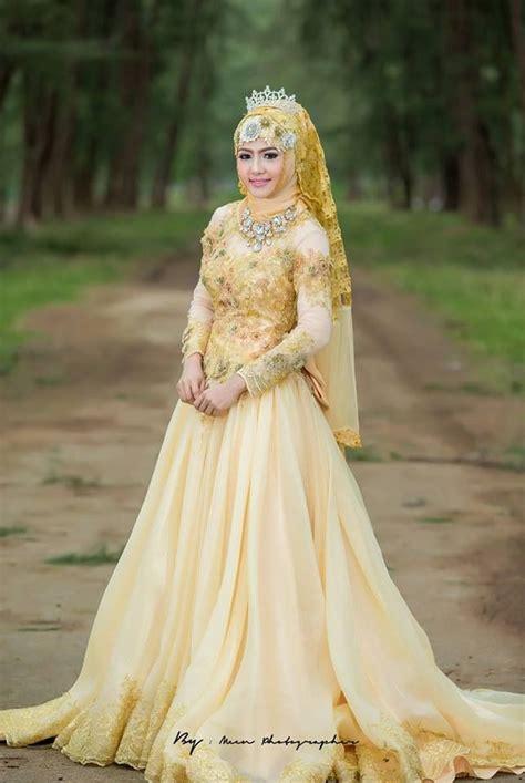 gaun pengantin terbaru trend