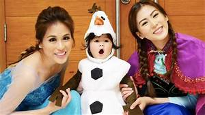 Toni and Alex Gonzaga plus Baby Seve in Frozen-inspired ...