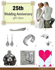 25th wedding anniversary gift ideas 39 s - 25 Wedding Anniversary Gift Ideas