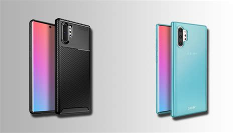 galaxy note 10 accessories list leaked by retailer includes variety of cases for both