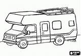 Rv Camper Coloring Pages Camping Printable Motorhome Colouring Campervan Sheets Sketch Trailers Tiny Saftey Oncoloring Trailor Vehicles Children sketch template