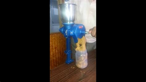 nans peanut butter maker hand operated  special