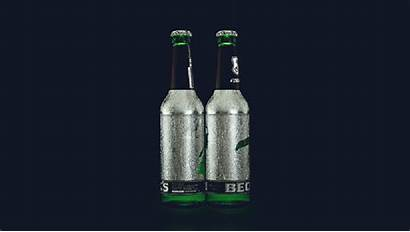 Bottle Scratch Drink Beer Fun Neck Animated