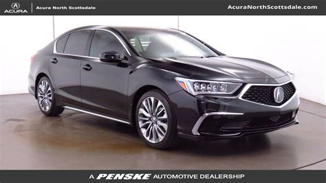 acura technology package new 2018 acura rlx with technology package sedan in