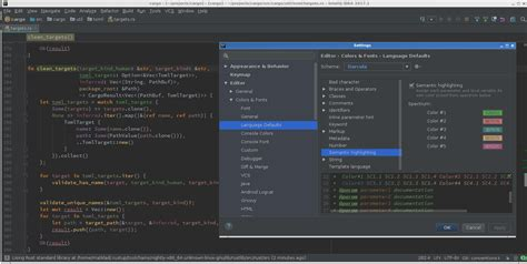 rust example kdevelop changelog intellij highlighting semantic variable introduce parameter originally each local colors different