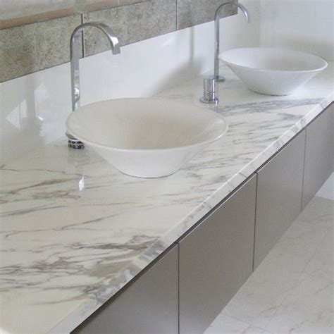 soft soothing grey marble bathroom vanity top complements