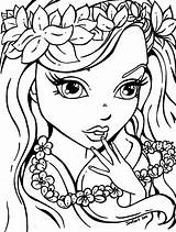 Coloring Pages Makeup Popular Printable sketch template
